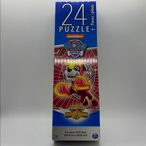 NEW PAW PATROL 24 PC PUZZLE, RED